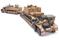 German 18 Ton Heavy Half-Track Famo and Tank Transporter Sd.Ah.116