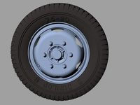 Opel Blitz Road Wheels Early (Commercial Pattern - Image 1
