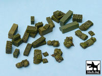British equipment accessories set 33 resin parts