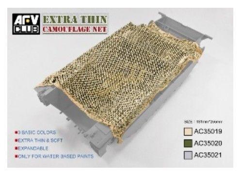 Camouflage Net-Desert Tan model do sklejania AFV Club -AC35019