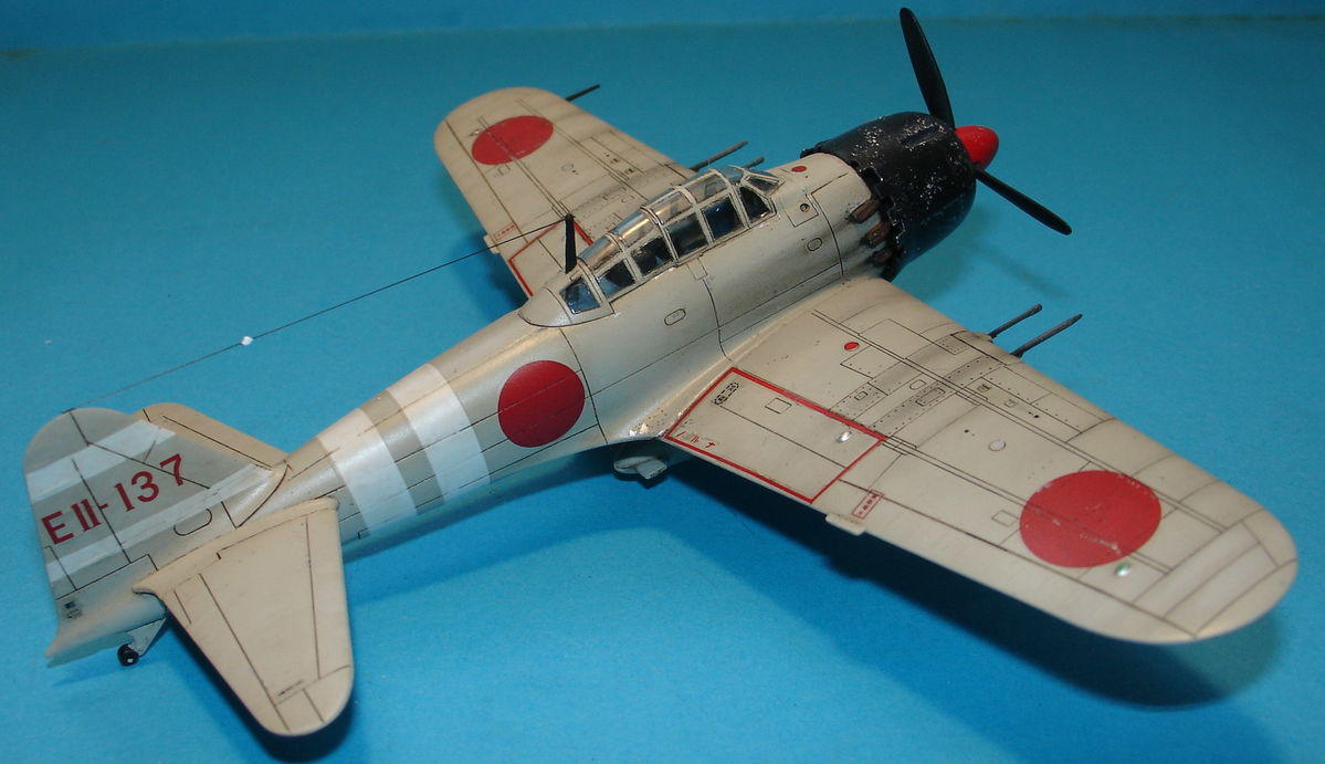 A6M5 Zero Fighter 1/72 Hobby Boss 80241 - 003 - Image 1