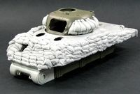 Heavy Sand armor for M4A1 Tank (Early hull)