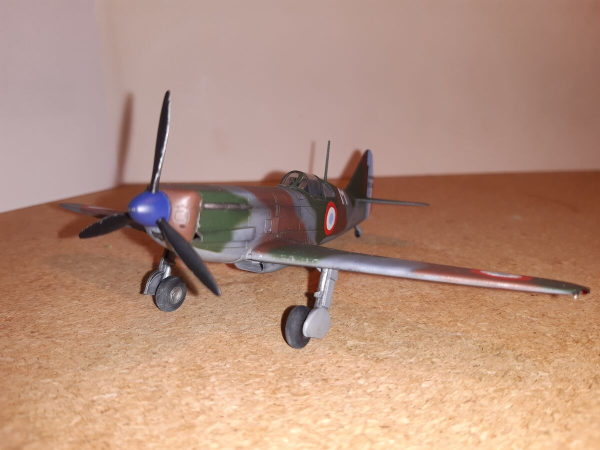 Dewoitine D.520 1/72 Hobby 2000 - 002 - Image 1