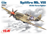 Spitfire Mk .VIII  US Air Force Fighter - Image 1