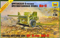British Anti-tank gun 6lb Mk.II (limited edition)