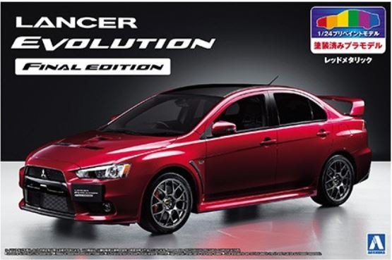 Lancer Evo X Final Edition Red - Image 1