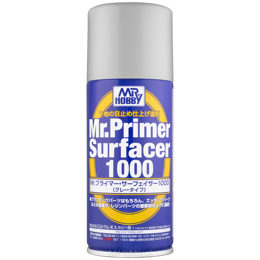 B-524 Mr.Primer Surfacer 1000 Spray - Image 1