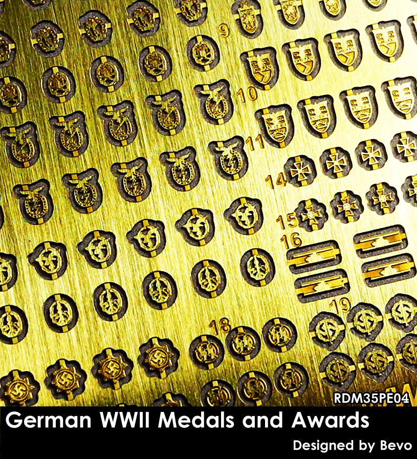 German WWII Medals and Awards - Image 1