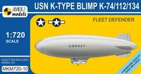 USN K-TYPE BLIMP K-74/112/134