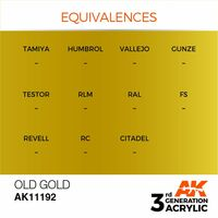 AK 11192 Old Gold
