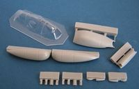 Spitfire PR. IF + vacu canopy for Airfix - Image 1
