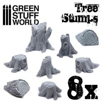 Tree Stumps Resin Set