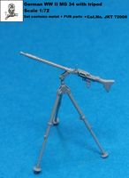 German WWII MG 34 with tripod (PUR + metal parts) - Image 1