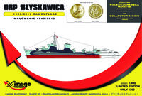 ORP BŁYSKAWICA 1943/2012 camouflage [with the Collectors Coin] - Image 1