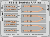Seatbelts RAF late STEEL