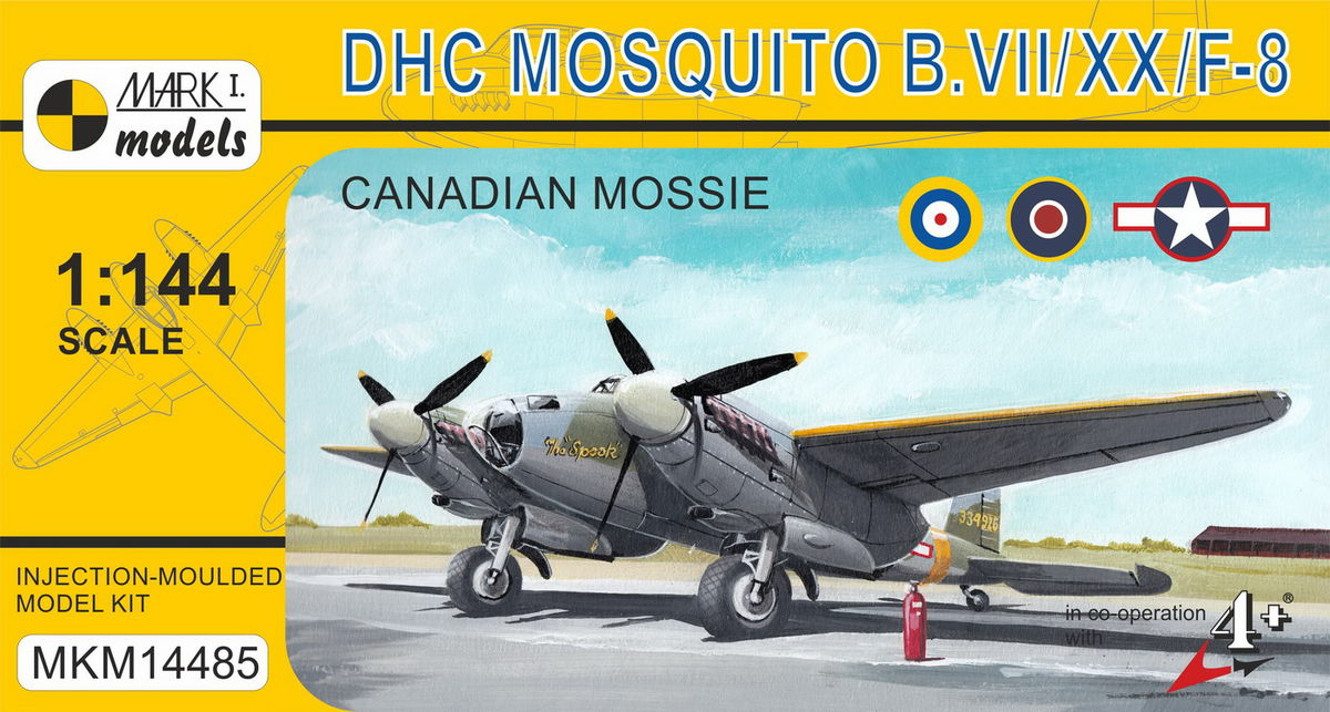 DH Mosquito B.VII/XX/F-8 - Image 1
