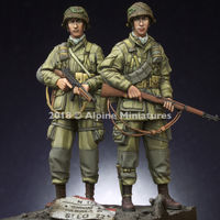 US 101st Airborne Trooper Set - 2 figs - Image 1