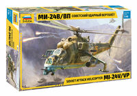 Soviet Attack Helicopter MI-24V/VP