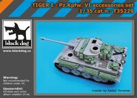 Tiger I - Pz.Kpfw. VI aaccessories set for Academy
