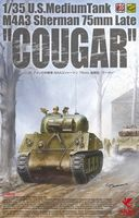 "U.S. Medium Tank M4A3 Sherman 75mm Late ""Cougar"" - Image 1"