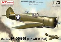 Curtiss P-36G (Hawk A-6/8) - Image 1