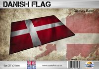 Danish Flag 297 x 210mm - Image 1