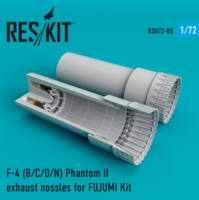 F-4 Phantom II (B/C/D/N) exhaust nossles for FUJUMI Kit