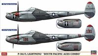 "P-38J/L LIGHTNING ""SOUTH PACIFIC ACES COMBO"" (Two kits in the box)"