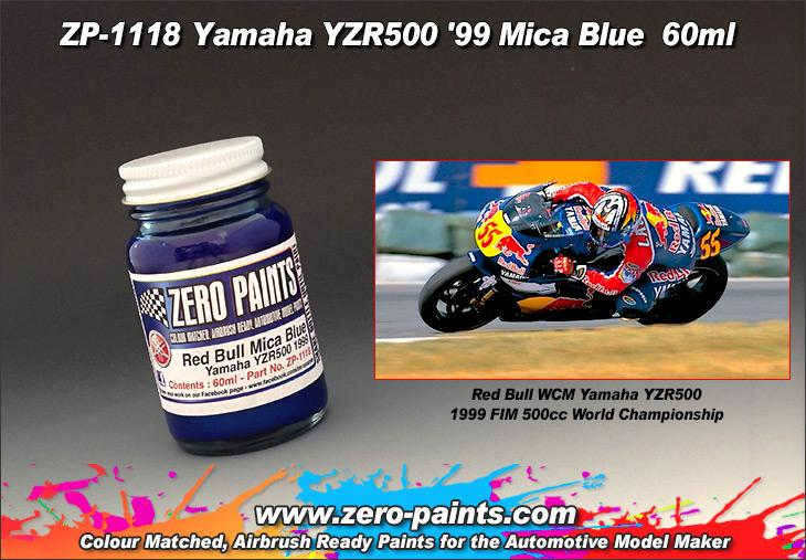 1118 Yamaha YZR500 99 (Red Bull) Blue - Image 1