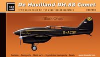 De Havilland DH-88 Comet Blacks - Image 1