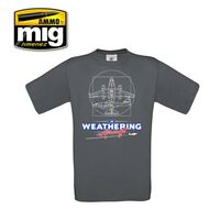 "THE WEATHERING AIRCRAFT T-SHIRT ""XL"""
