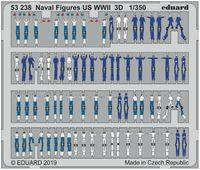 Naval Figures US WWII 3D - Image 1