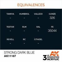 AK 11187 Strong Dark Blue