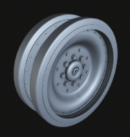 "M551 ""Sheridan"" Road wheels - Image 1"