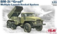 BM 21 Grad Multiple launch rocket system - Image 1